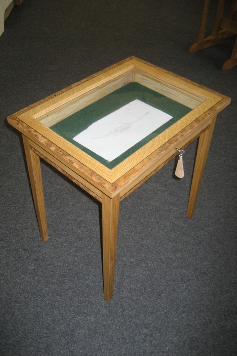 Table-fossil-display-table